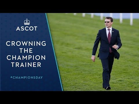 Crowning of the Champion Trainer, Aidan O'Brien
