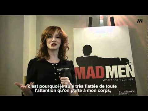Interview de Christina Hendricks - Madame Figaro