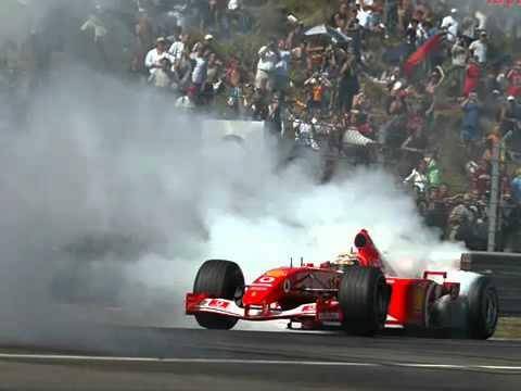 Battaille de son de moteur F1