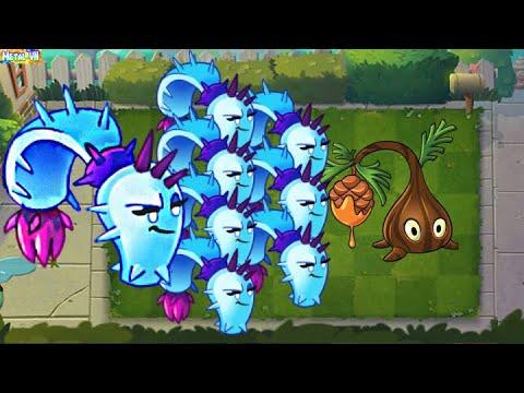 Download Plants vs Zombies 2 Epic | Team Plants Max Level Fizi Power Up! Team Dusk Lobber vs Sap Fling