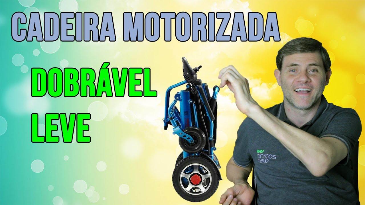 Cadeira Motorizada dobrável, leve e acessível! TOP! - T2 #004