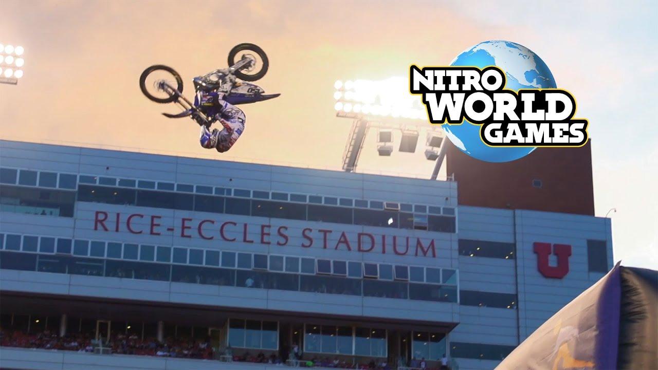 Travis Pastrana Redefined Competition | Nitro World Games Rewind