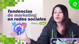 Tendencias de marketing digital y escucha activa en redes sociales | PlatziLive