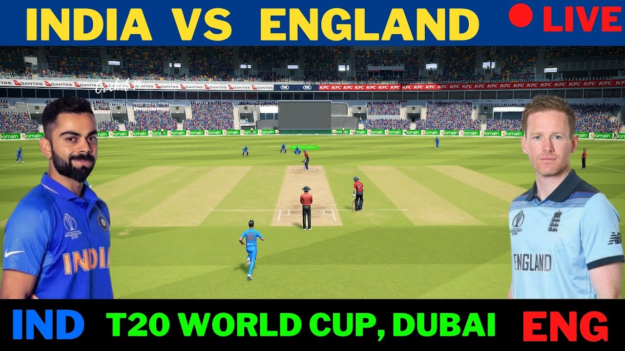 🔴 Live: INDIA VS  ENGLAND | Cricket Scores and Commentary | IND Vs ENG , T20 World Cup