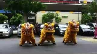 Barongsai Menari Gangnam Style ( Mantap ! )