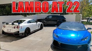 How I Was Able To Buy 2 Lamborghinis At 22 Years Old