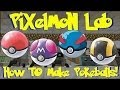 Pixelmon- Pokeball FULL Crafting Guides! (Anvil Work, Recipes, Apricorns And More!)
