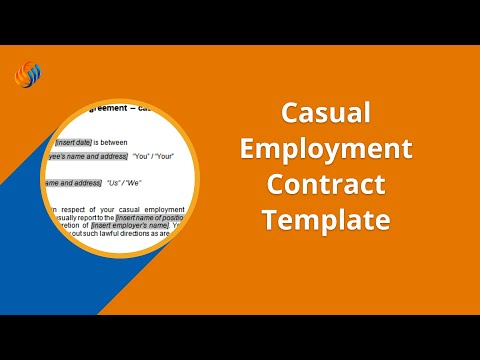 Casual Employment Contract Template - Fairwork Australia Compliant