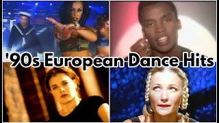 Top 90s European Dance Hits - best pop songs 90s and 2000s