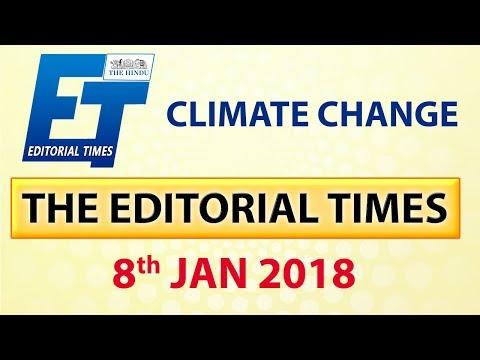 The Hindu | The Editorial Times | 8th Jan 2018 | Newspaper | UPSC | SSC | IBPS Bank