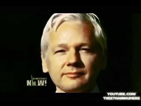 DN! Goes Inside Assange's Embassy Refuge to Talk WikiLeaks, Snowden and Winning Freedom