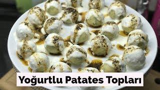 Yoğurtlu Patates Topları - Naciye Kesici - Yemek Tarifleri
