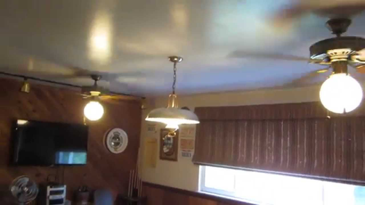 Video Tour Of The Ceiling Fans In My House Youtube