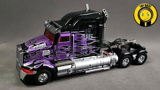 Dark Knight Optimus Prime Unique Toys transformers movie 5 custom OP robot toys Western Star 5700xe