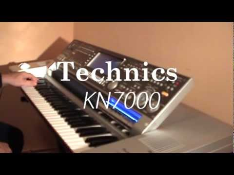 Technics SX-KN7000 demo