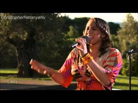 X Factor USA 2011 - Judges House-Melanie Amaro- Will You Be There .avi
