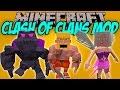 CLASH OF CLANS MOD - Clash of clans en minecraft realista!! - Minecraft mod 1.7.10 Review