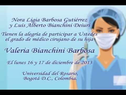 Invitacion Grado Medicina