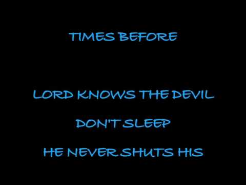 Brantley Gilbert - The Devil Don't Sleep (Full HD Song Lyrics)