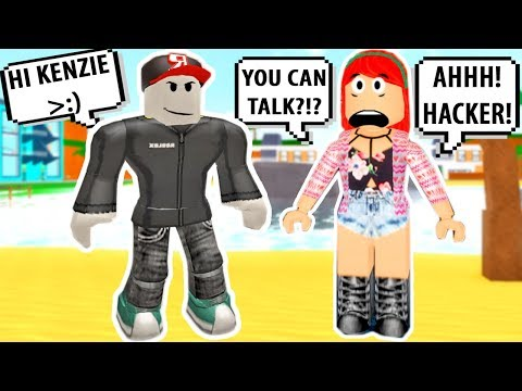 THEY THINK I'M A HACKER! TROLLING AS GUEST! Roblox Adopt And Raise A Cute Kid | Roblox Funny Moments