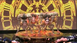 The Tonight Show With Jay Leno - IRIS Contortionists by Cirque du Soleil