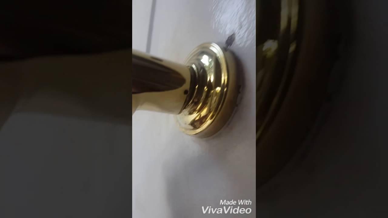 Gatehouse doorknob removalGatehouse doorknob removal   YouTube. Remove Baldwin Front Door Handle. Home Design Ideas