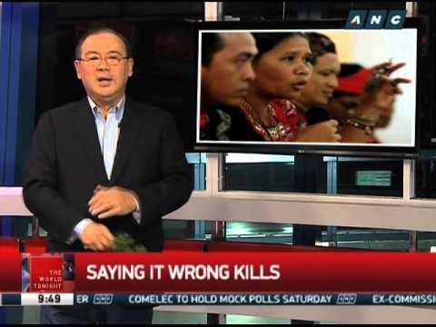 Teditorial: Saying it wrong kills