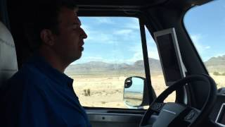 Freightliner Inspiration Truck Ride Along
