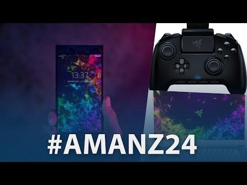 #Amanz24 - Razer Phone 2, Galaxy A9 (2018) 4 Kamera, Identiti Digital Malaysia