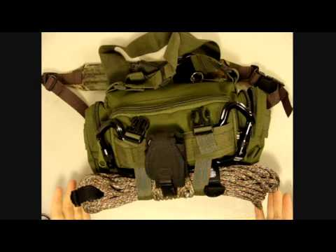 Bug Out Bag Small Bob Survival Kit Jump Pack Molle Pouch