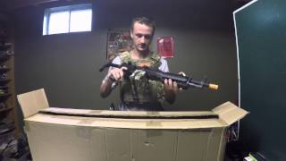 Biggest Airsoft Unboxing $2000 Sniper Rifle and Machine Gun Unboxing