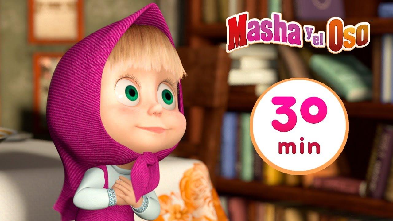 Masha y el Oso 😁Respire Profundo 😁 Сolección 25 🎬 30 min 🥳 Dibujos animados