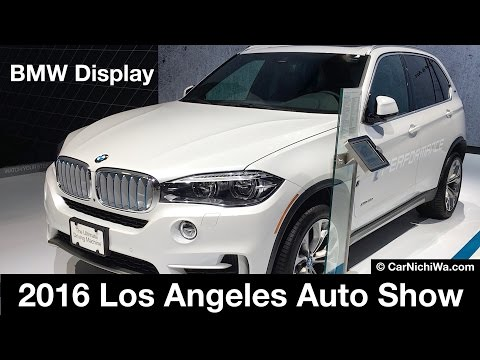 BMW Display | 2016 Los Angeles Auto Show | © CarNichiWa.com
