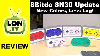 8bitdo SN30 GP and SN30 Pro G Update Review: New Colors, Less Lag