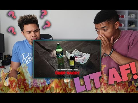 BLACK AMERICAN REACTS TO Gzuz ft. UFO361 x Bonez MC x Maxwell - Über Nacht (SO FIRE & FUNNY)