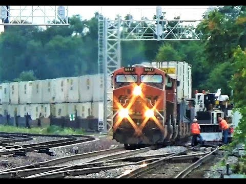 UD Tower - Nonstop Trains in Joliet, IL