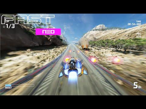 FAST RACING NEO (Wii U) - El sucesor de F-Zero para WiiU    Gameplay en Español