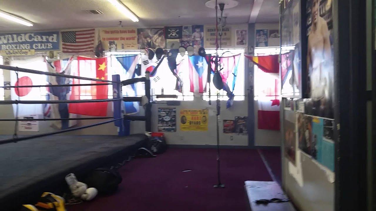 TRU at Wild Card Boxing Club - YouTube