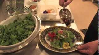Flower Salad Spring Rhapsody By Restaurant Imperial