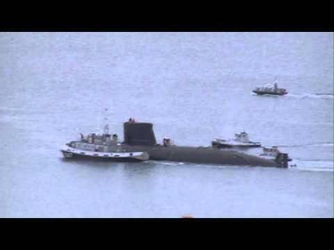 BREST : Le sous-marin Ouessant poster