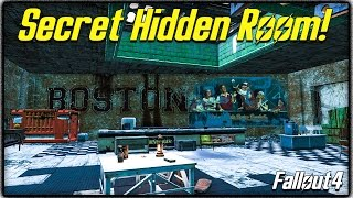Fallout 4 - Secret Hidden Room on Top of Diamond City! (How to Find It)