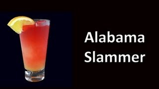 Alabama Slammer Cocktail Drink Recipe