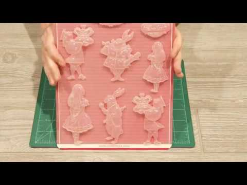 Stamperia Moulds in the Shop and Quick Cure Resin Tutorial
