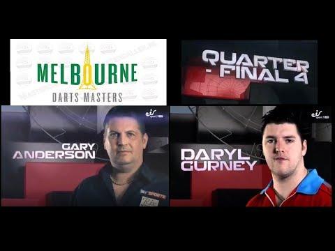 Melbourne Darts Masters 2017 QF G.Anderson vs Gurney