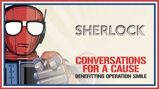 """Sherlock"" Conversation with the Cast & Creators - Nerd HQ (2013) HD - Steven Moffat"