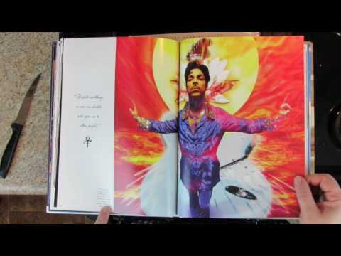 Unboxing Prince - Books (Fashion, Paisley Park, Guitar and Bass)