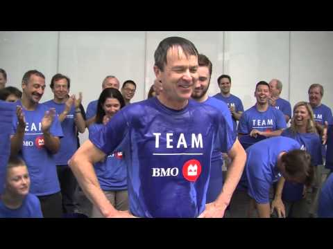 BMO Accepts the ALS #IceBucketChallenge