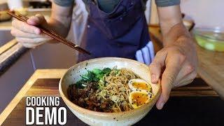 Make Restaurant Style Ramen in 1 Hour