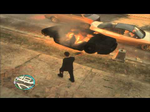 GTA IV: The Wall Of Safety!