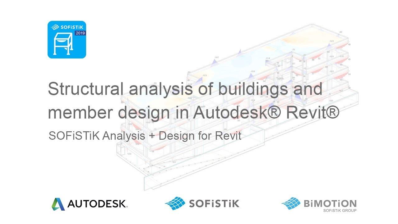 Analysis + Design for Revit | SOFiSTiK AG